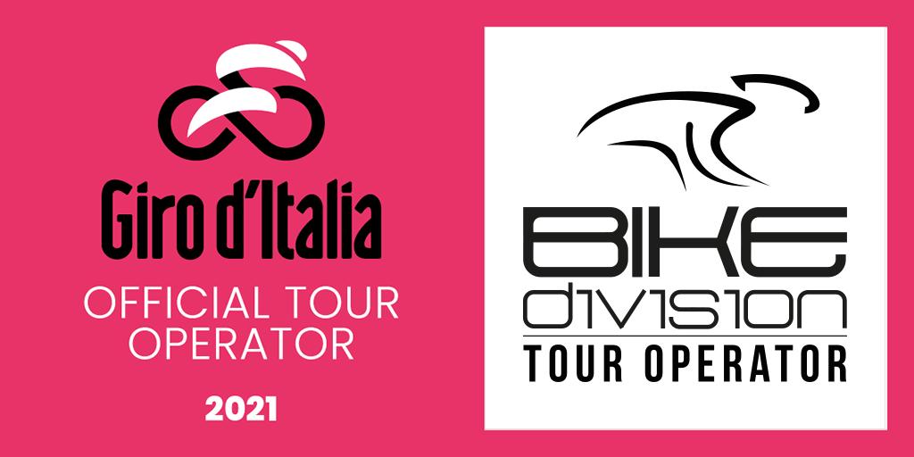 Logo Bike Division Official Tour Operator Giro d'Italia